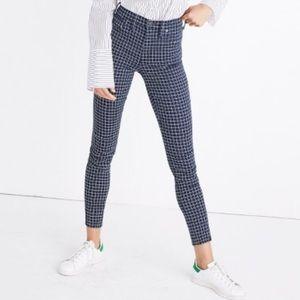 Madewell window pane skinny jeans
